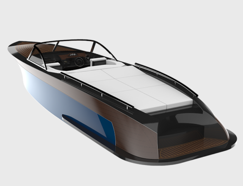 Electric Powertrain Boat